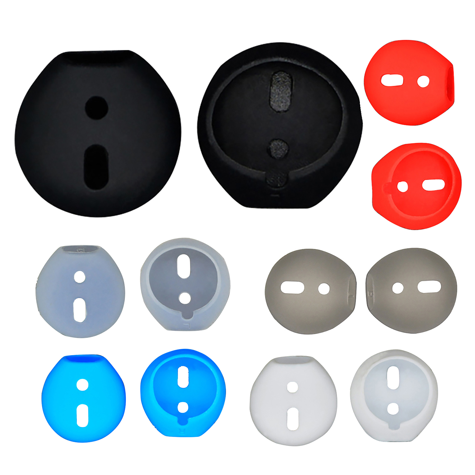 1-3-5-Pairs-Replacement-Silicone-Eartips-Anti-Lost-Earbud-Cover-For-Apple-Airpod thumbnail 17